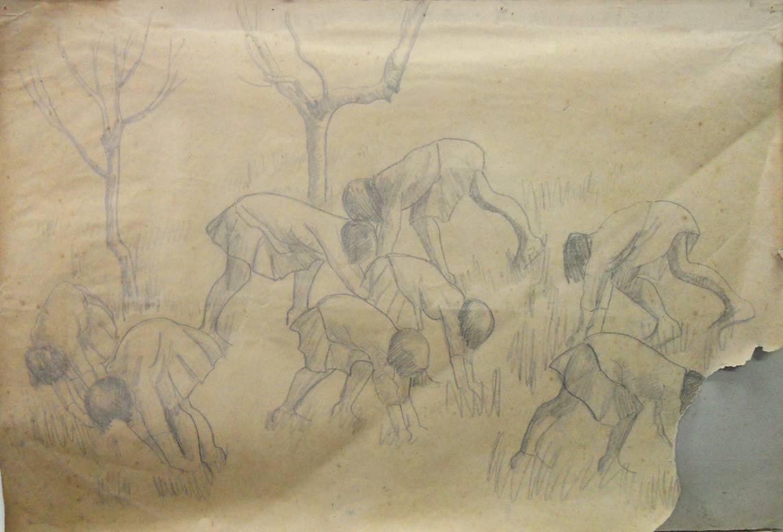 Obra ampliada: Jugando - Petrona Viera