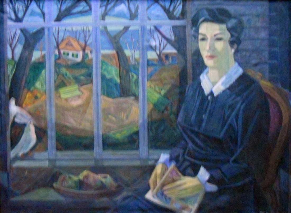 Obra ampliada: Retrato de señora - José María Pagani
