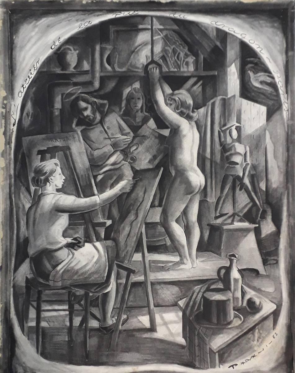 Obra ampliada: Taller de André Lothé - José María Pagani