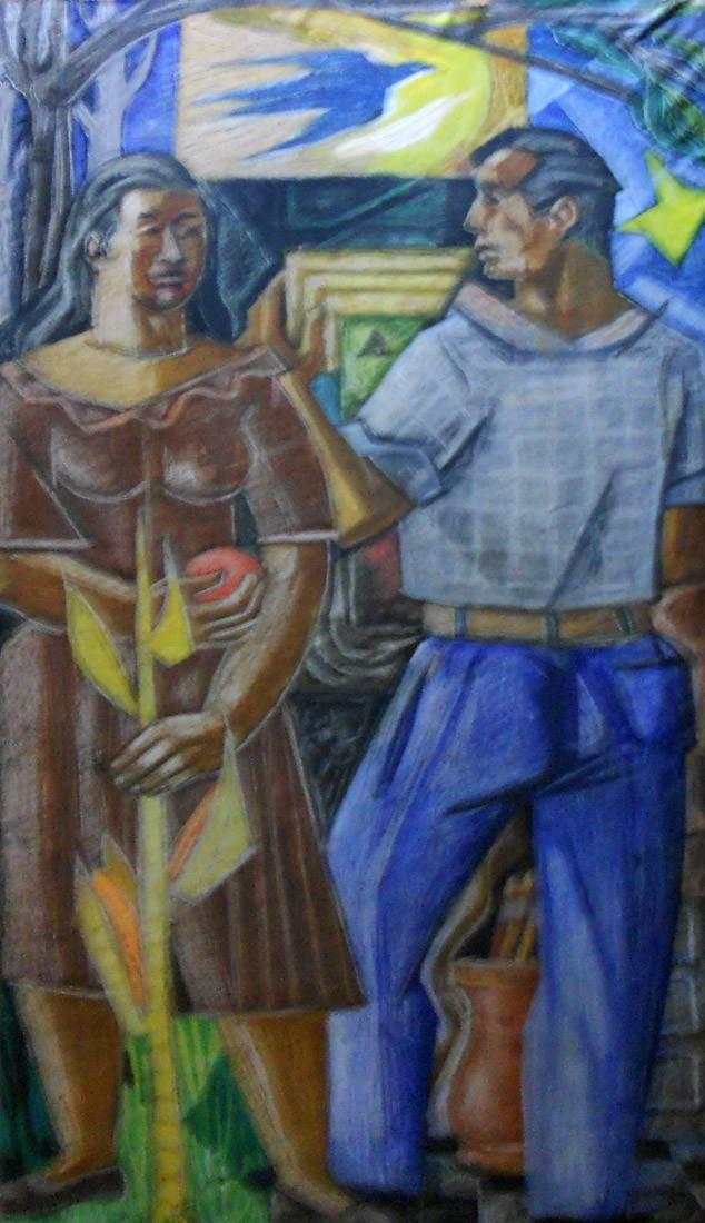 Obra ampliada: Detalle de mural - José María Pagani