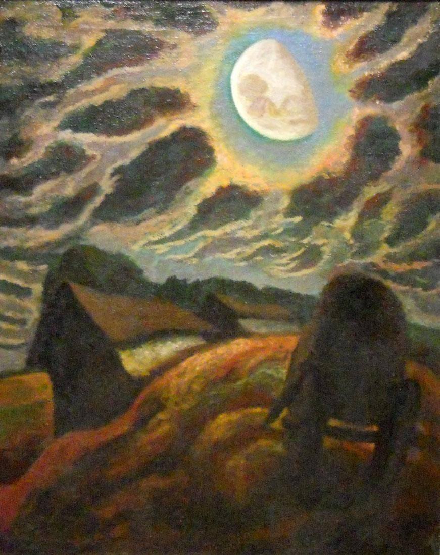 Obra ampliada: Luna en Florida - José Cuneo