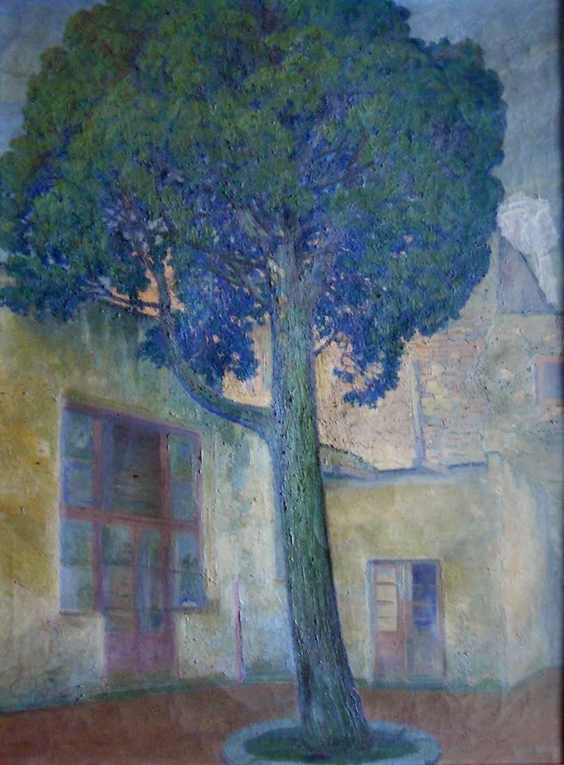 Obra ampliada: El ciprés - Miguel Benzo