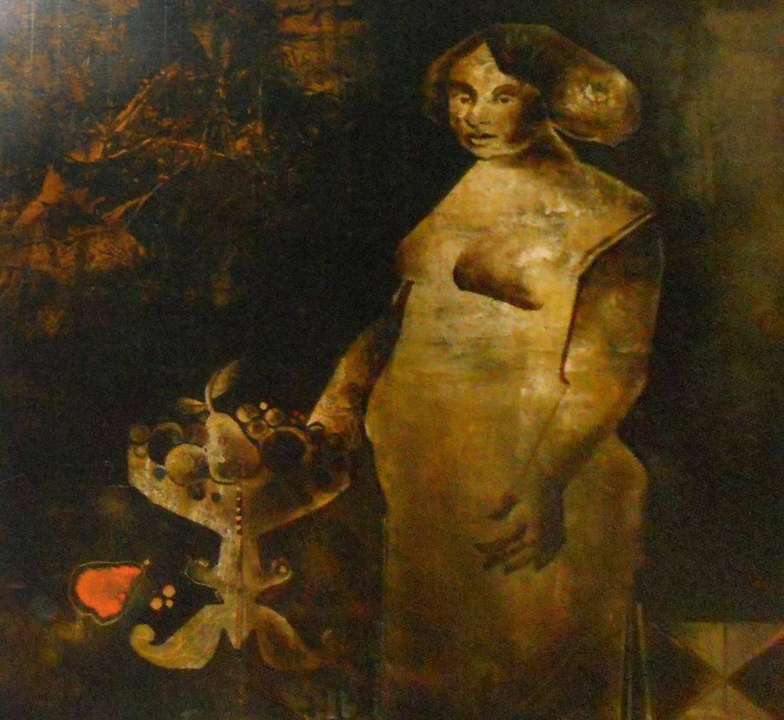 Obra ampliada: Carlota adolescente - Vicente Martín