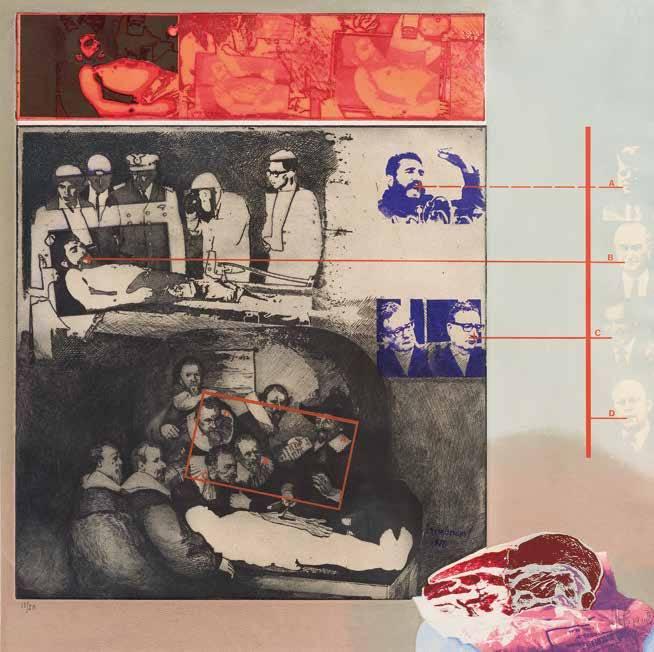 Obra ampliada: La muerte del Che  - Herman Braun Vega