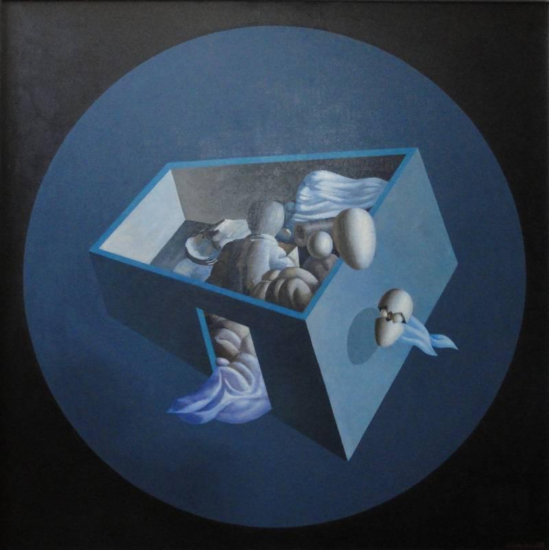 Obra ampliada: La nave azul - Jorge Damiani