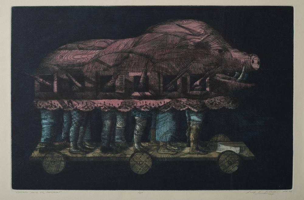 Obra ampliada: Carroza para un carnaval - Luis A. Solari