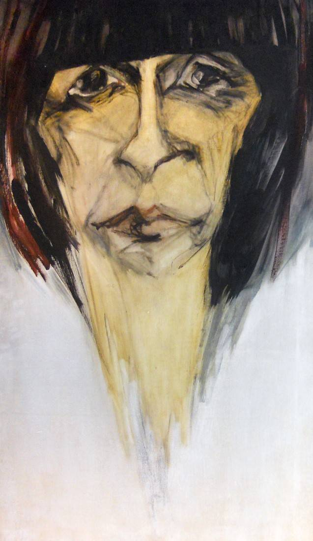 Obra ampliada: Retrato de Eva Olivetti - Hilda López