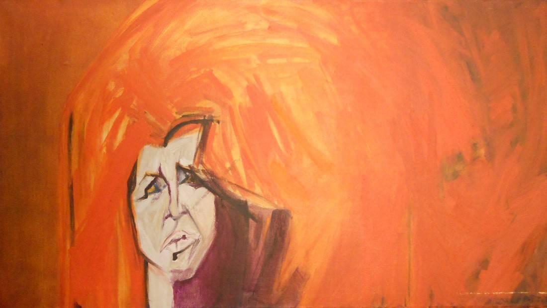Obra ampliada: Retrato de Linda Kohen - Hilda López