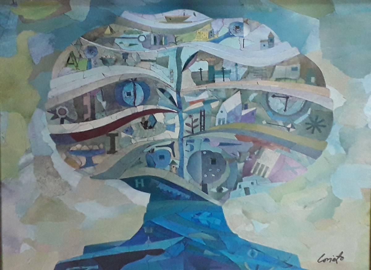 Obra ampliada: Árbol en forma de poesía - Mario Lorieto