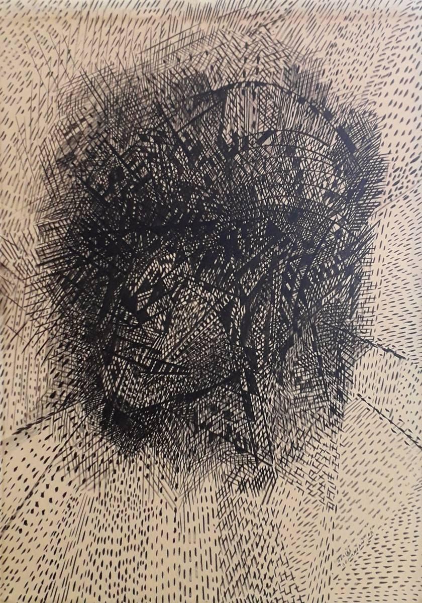 Obra ampliada: Rostro - Nerses Ounanian