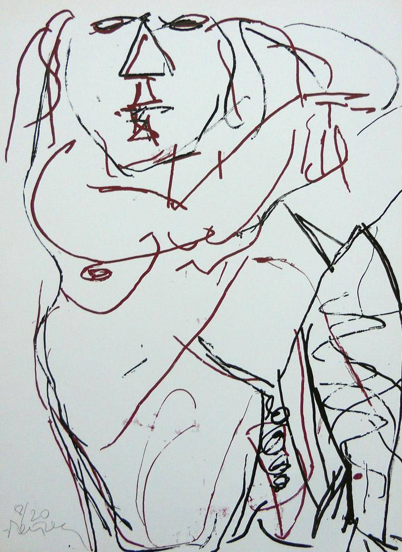 Obra ampliada: Desnudo 4 - Hans Platscheck