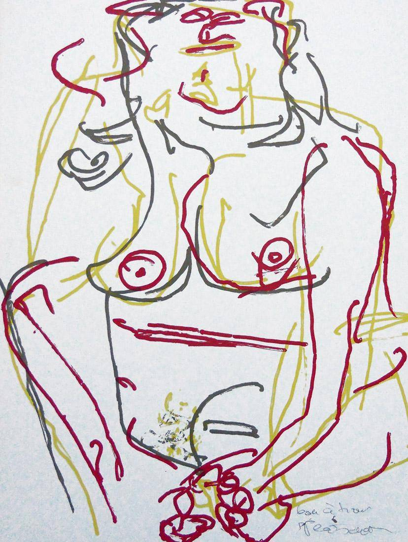 Obra ampliada: Desnudo 5 - Hans Platscheck