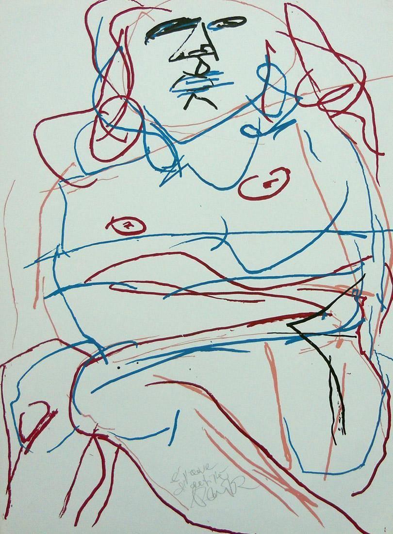 Obra ampliada: Desnudo 3 - Hans Platscheck