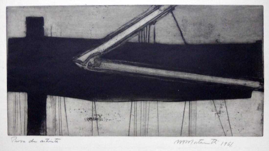 Obra ampliada: Gravura IV (Prova di artista)) - Margarita Mortarotti