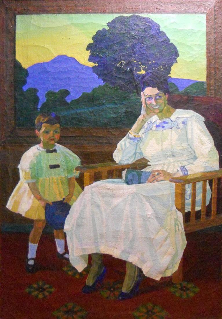 Obra ampliada: Retrato de la señora X - José Cuneo