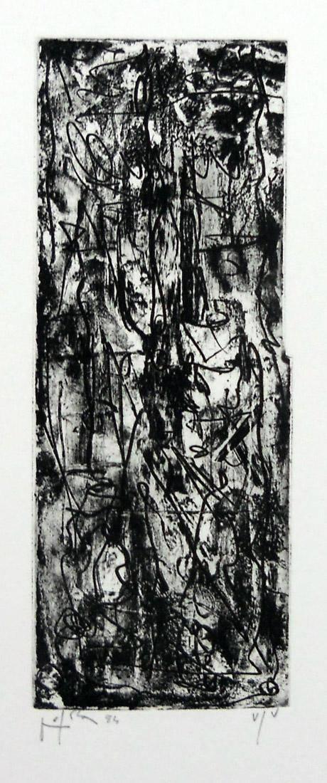 Obra ampliada: Nel palmo della mano-c - Emilio Vedova