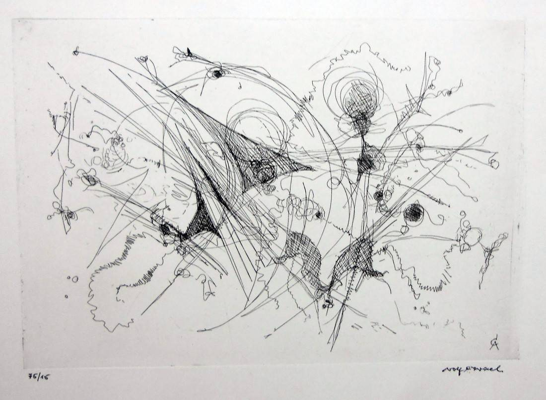 Obra ampliada: Sin título - Rolf Cavael