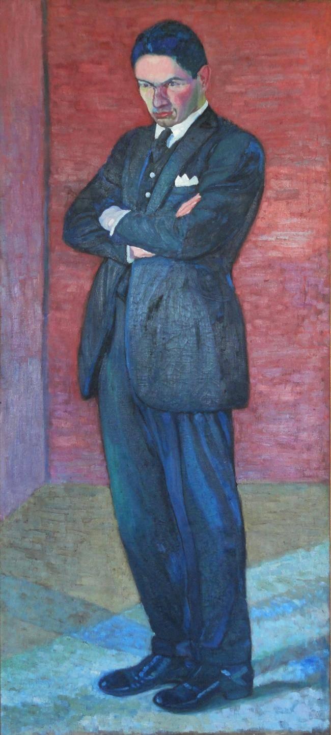Obra ampliada: Retrato de pintor - Alfredo De Simone
