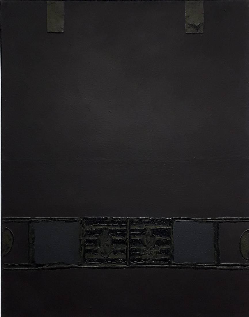 Obra ampliada: Espacio marrón - Jorge Damiani