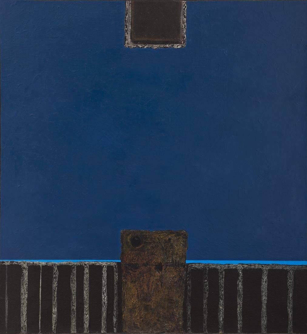 Obra ampliada: Espacio azul - Jorge Damiani