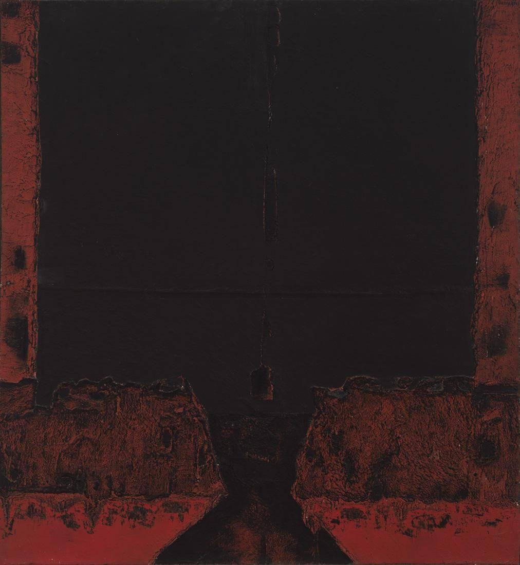 Obra ampliada: Espacio negro - Jorge Damiani