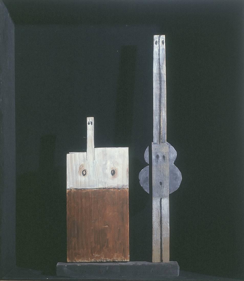 Obra ampliada: Caja con dos Venus - Francisco Matto