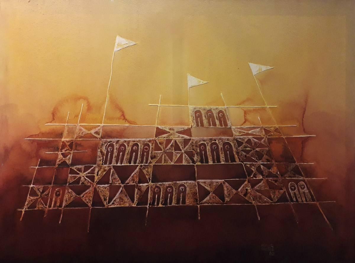 Obra ampliada: Rivera era una fiesta II - Osmar Santos