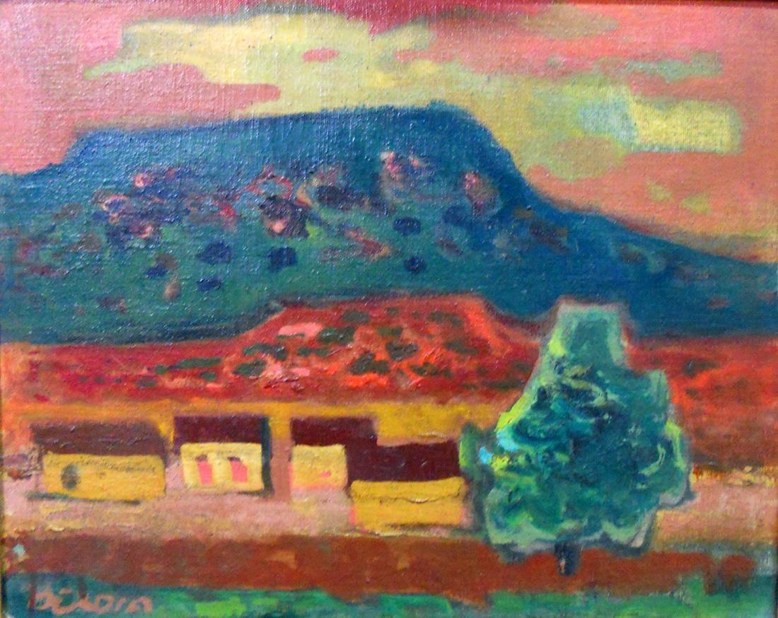 Obra ampliada: Paisaje de campo - Norberto Berdía