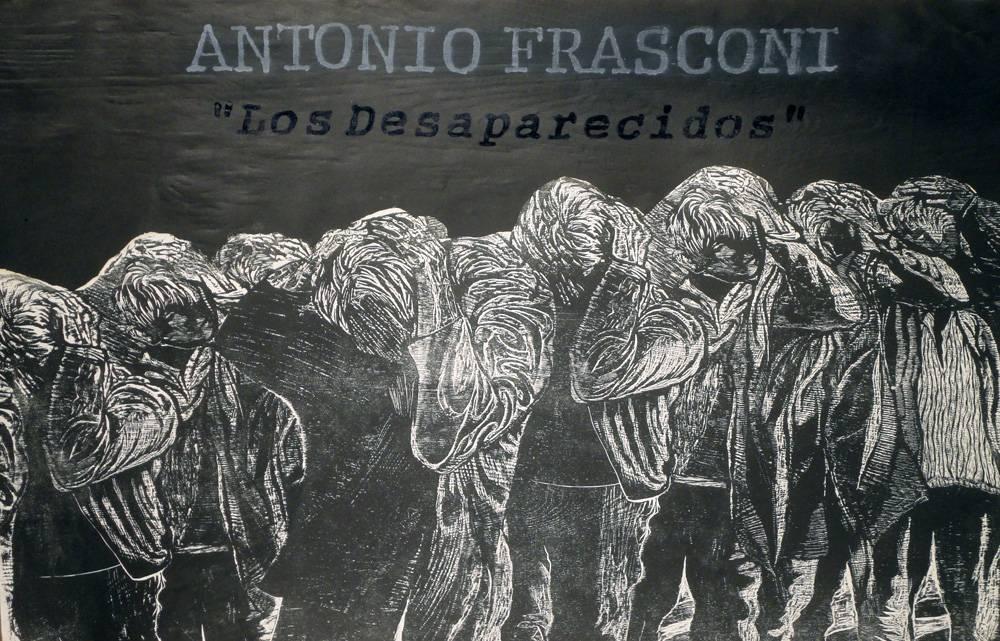 Obra ampliada: Los Desaparecidos - Antonio Frasconi