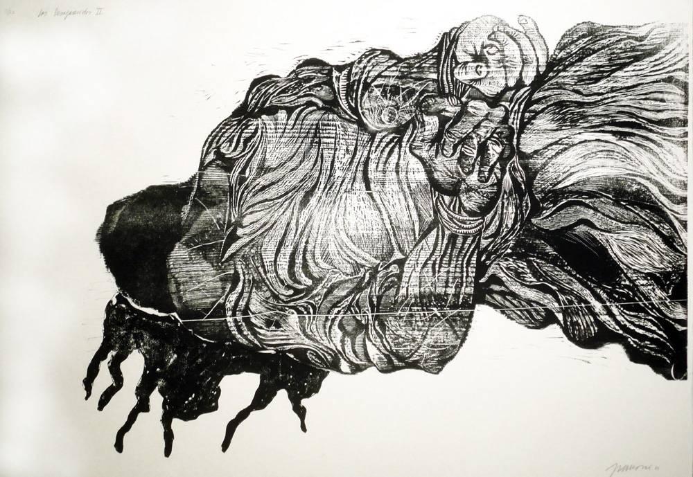 Obra ampliada: Los Desaparecidos II - Antonio Frasconi