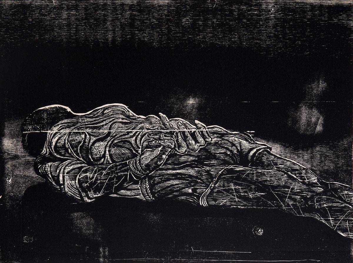 Obra ampliada: Los Desaparecidos V - Antonio Frasconi