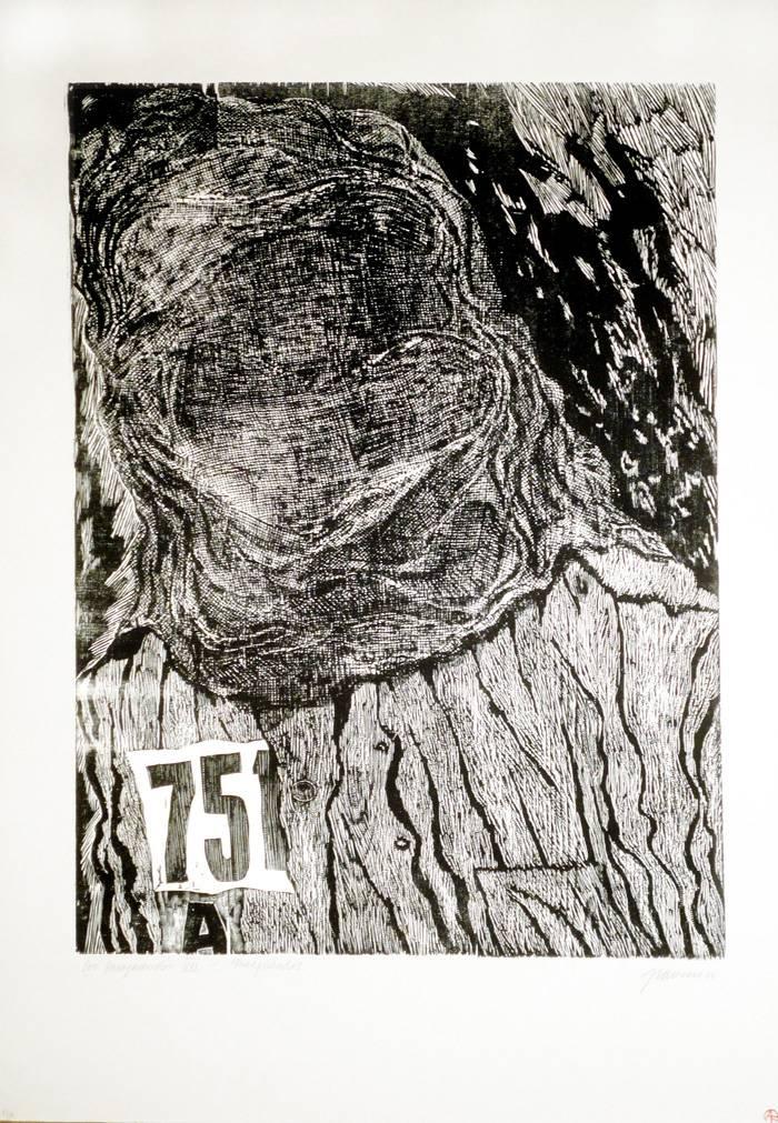 Obra ampliada: Los Desaparecidos VII Encapuchados 750 - Antonio Frasconi