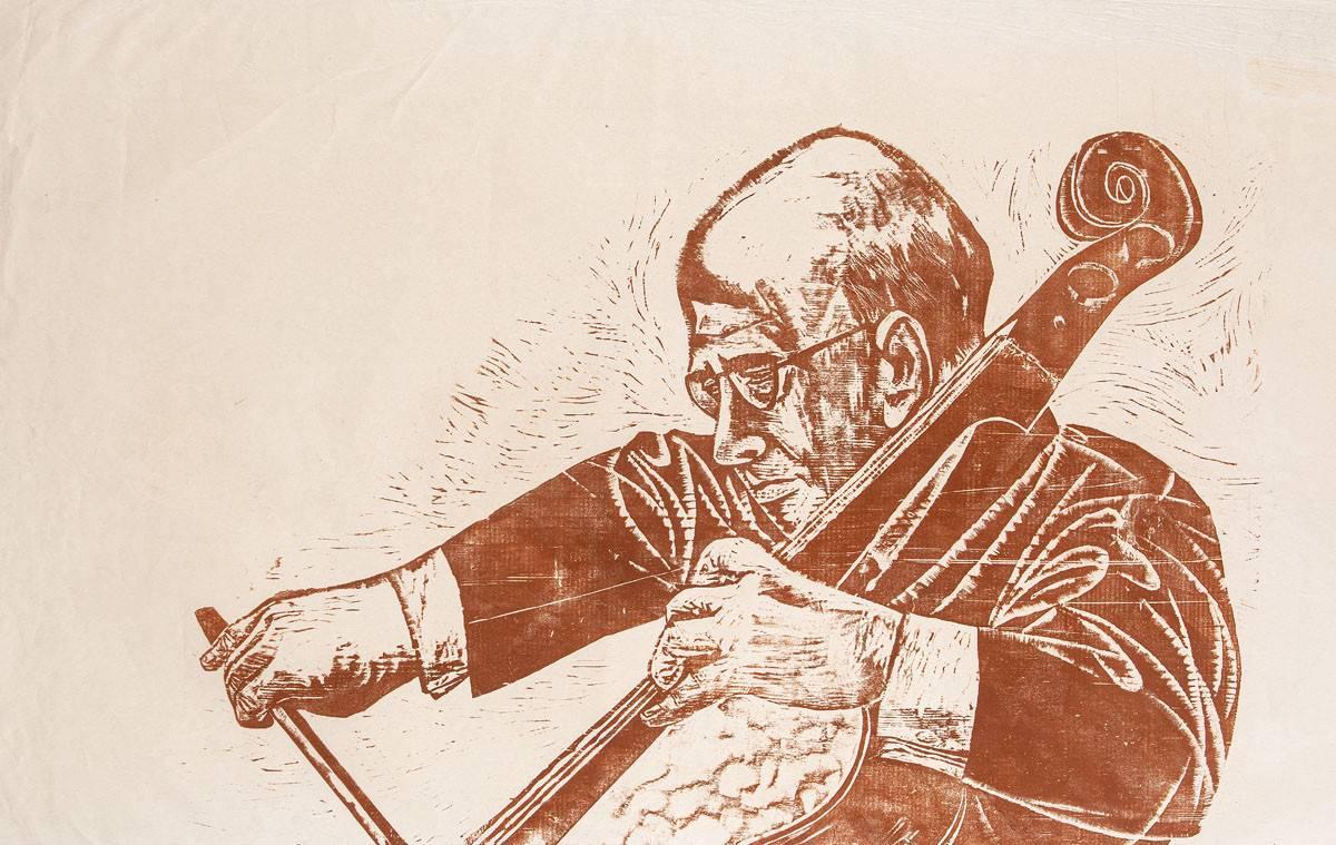 Obra ampliada: Pablo Casals - Antonio Frasconi