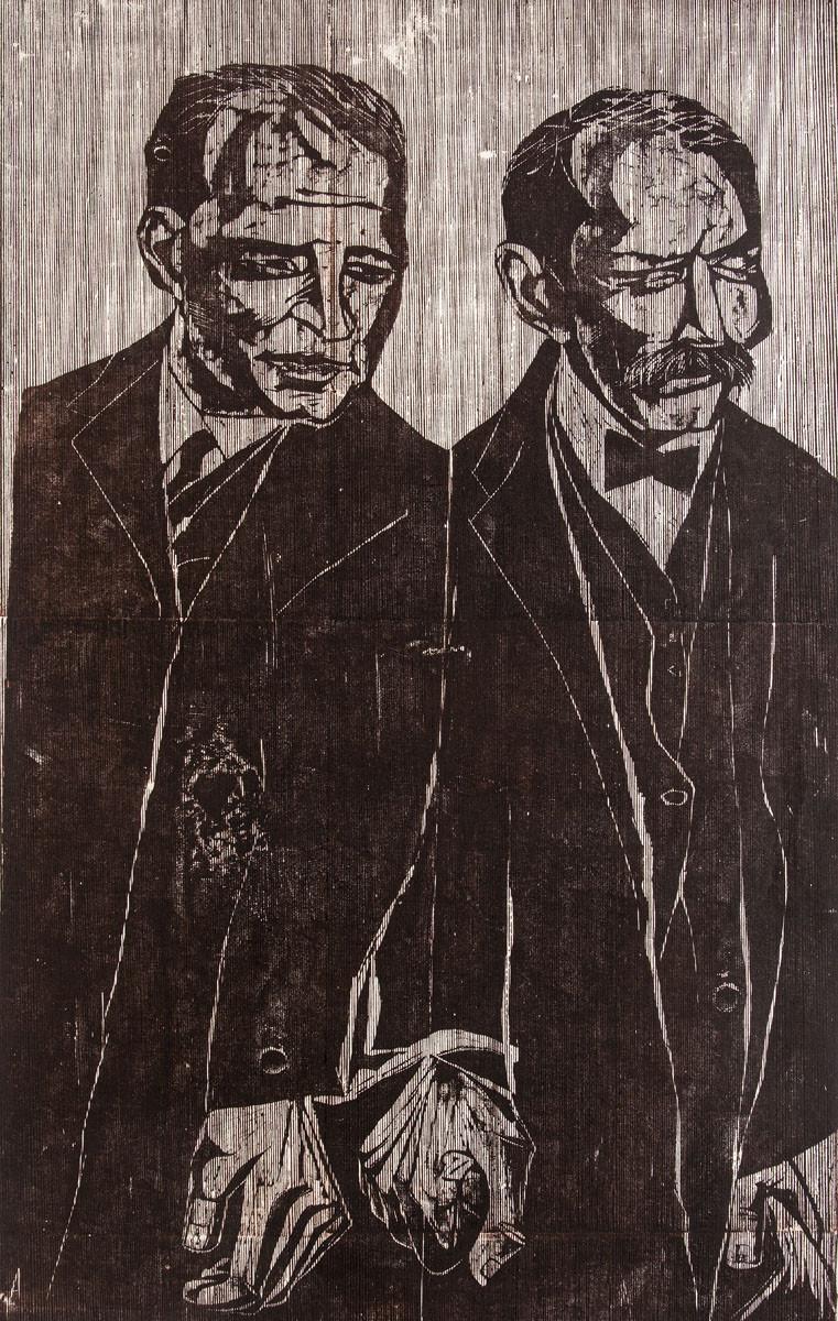 Obra ampliada: Sacco y Vanzetti - Antonio Frasconi