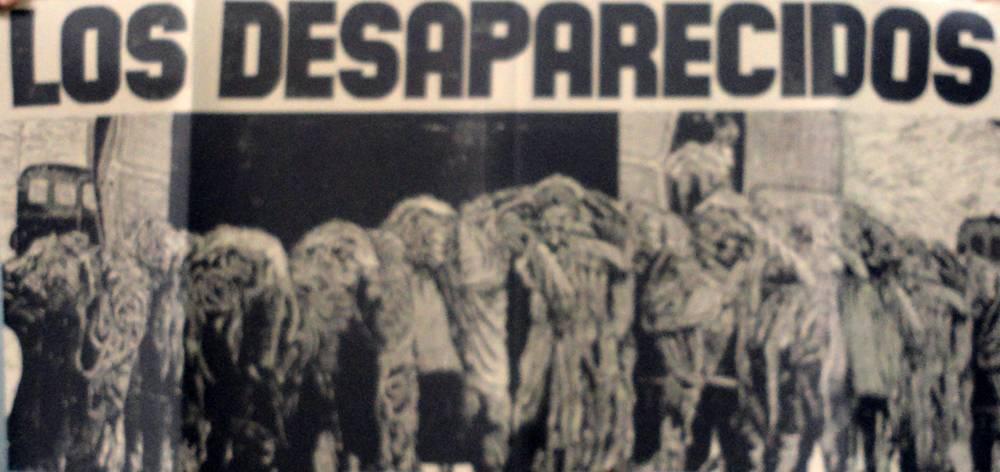Obra ampliada: Catalogo Muestra Los Desaparecidos - Antonio Frasconi