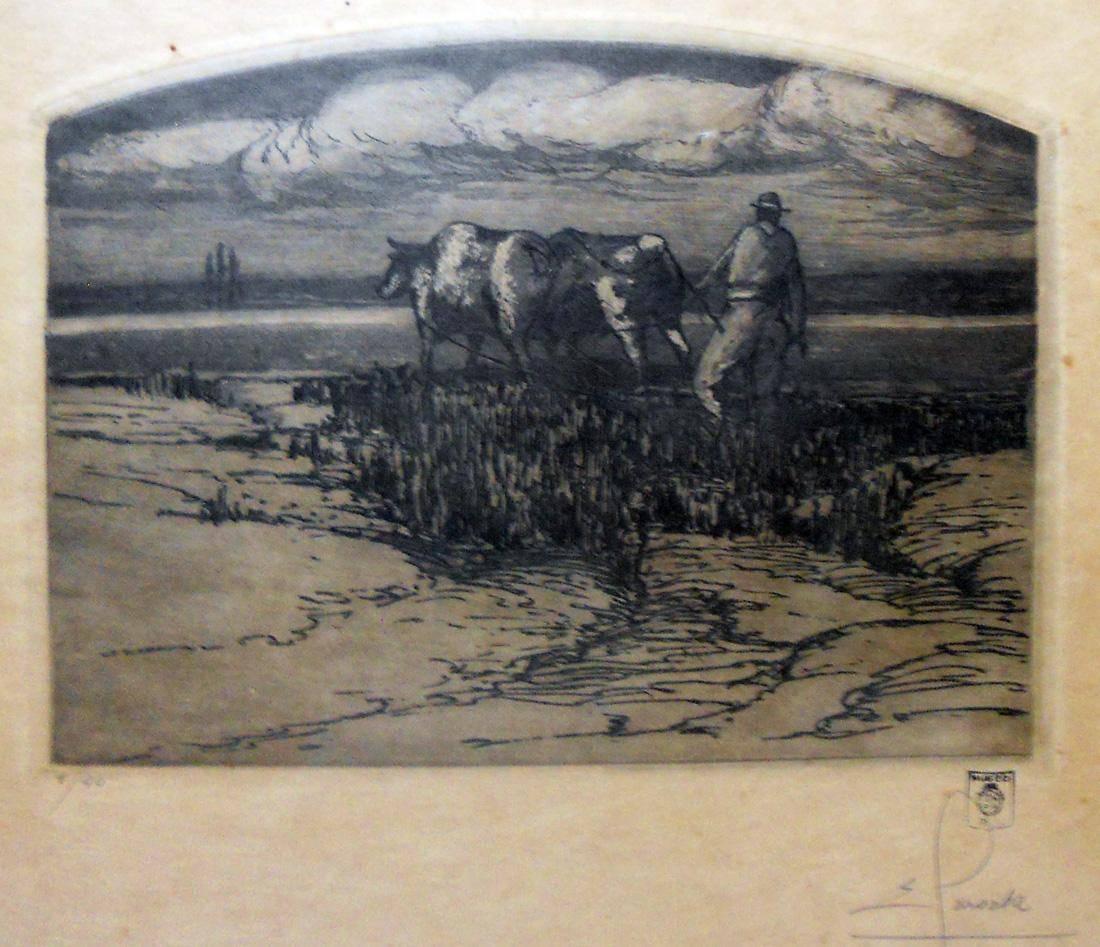 Obra ampliada: El arador - Ernesto Laroche