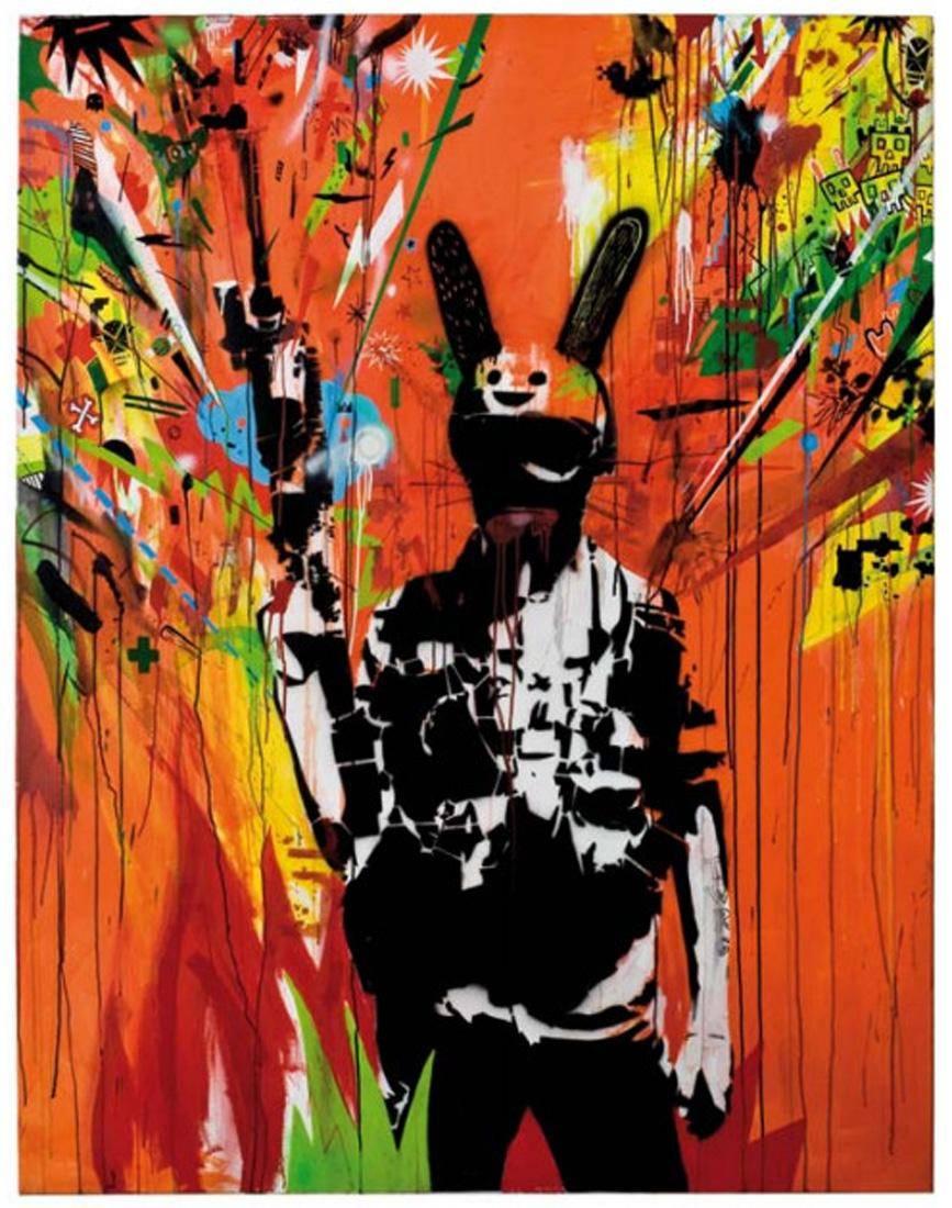 Obra ampliada: Mercenario TWRG (The White Rabbitt) - Santiago Velazco