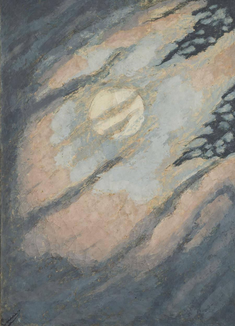 Obra ampliada: Luna  - José Cuneo