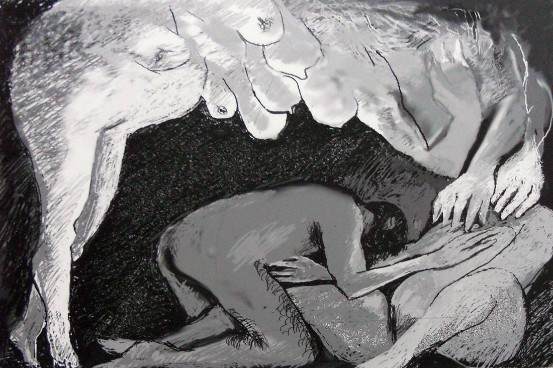 Obra ampliada: Incesto (serie Edipo Rey) - Anhelo Hernández