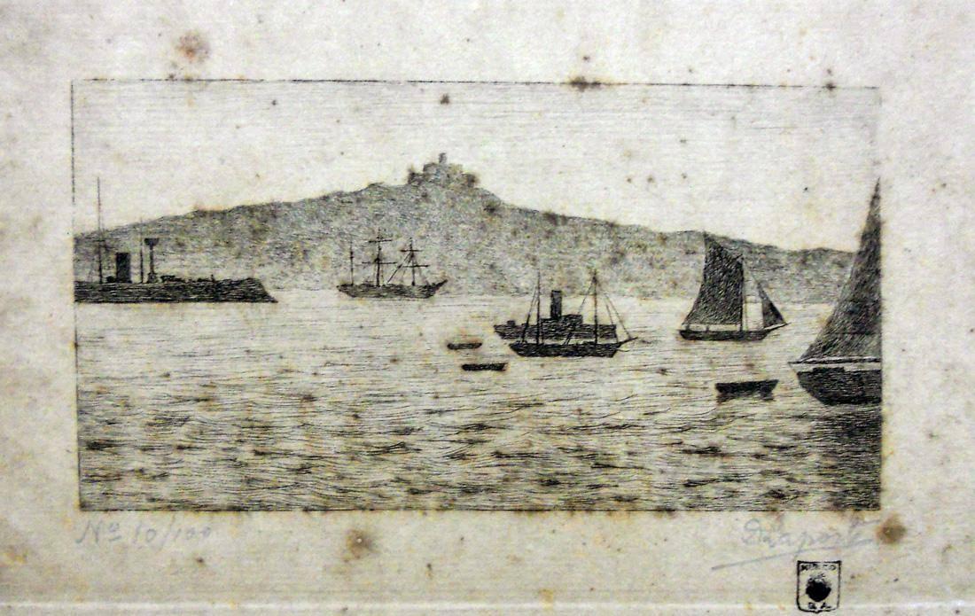 Obra ampliada: Bahía de Montevideo - Domingo Laporte