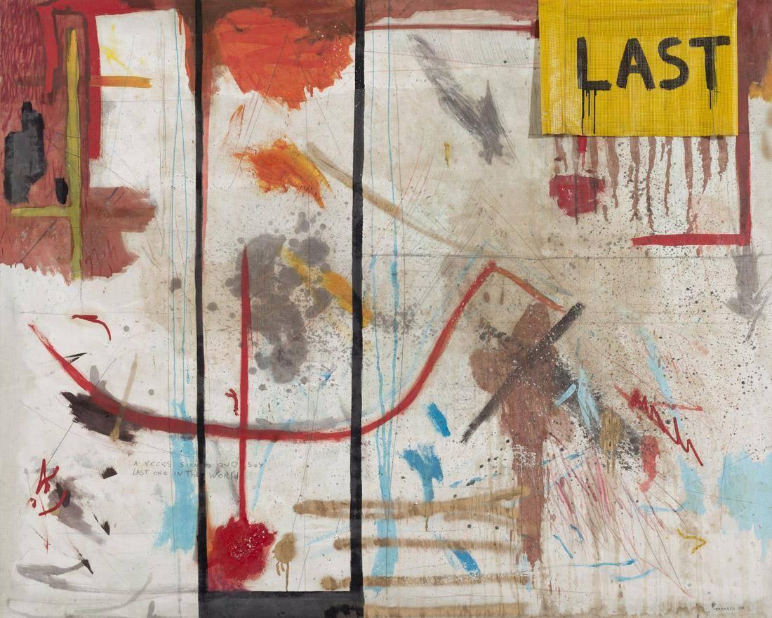 Obra ampliada: Last (a veces creo que soy la última coas en este mundo) - Gustavo Tabares