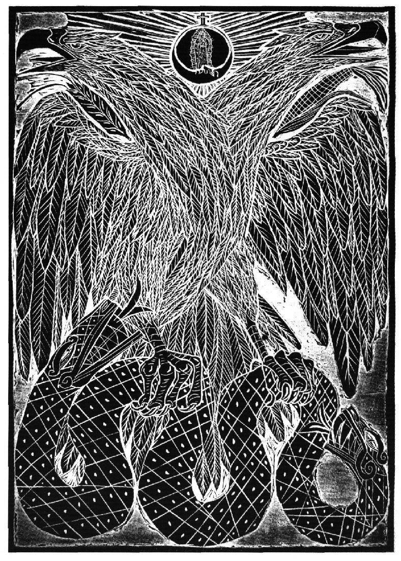 Obra ampliada: Bícéfala,bípedaybicentenaria - Joel Rendón