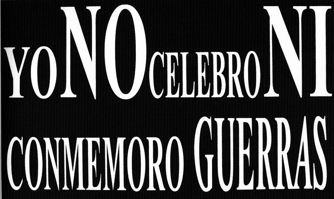 Obra ampliada: Yonocelebroniconmemoroguerras - Mónica Mayer