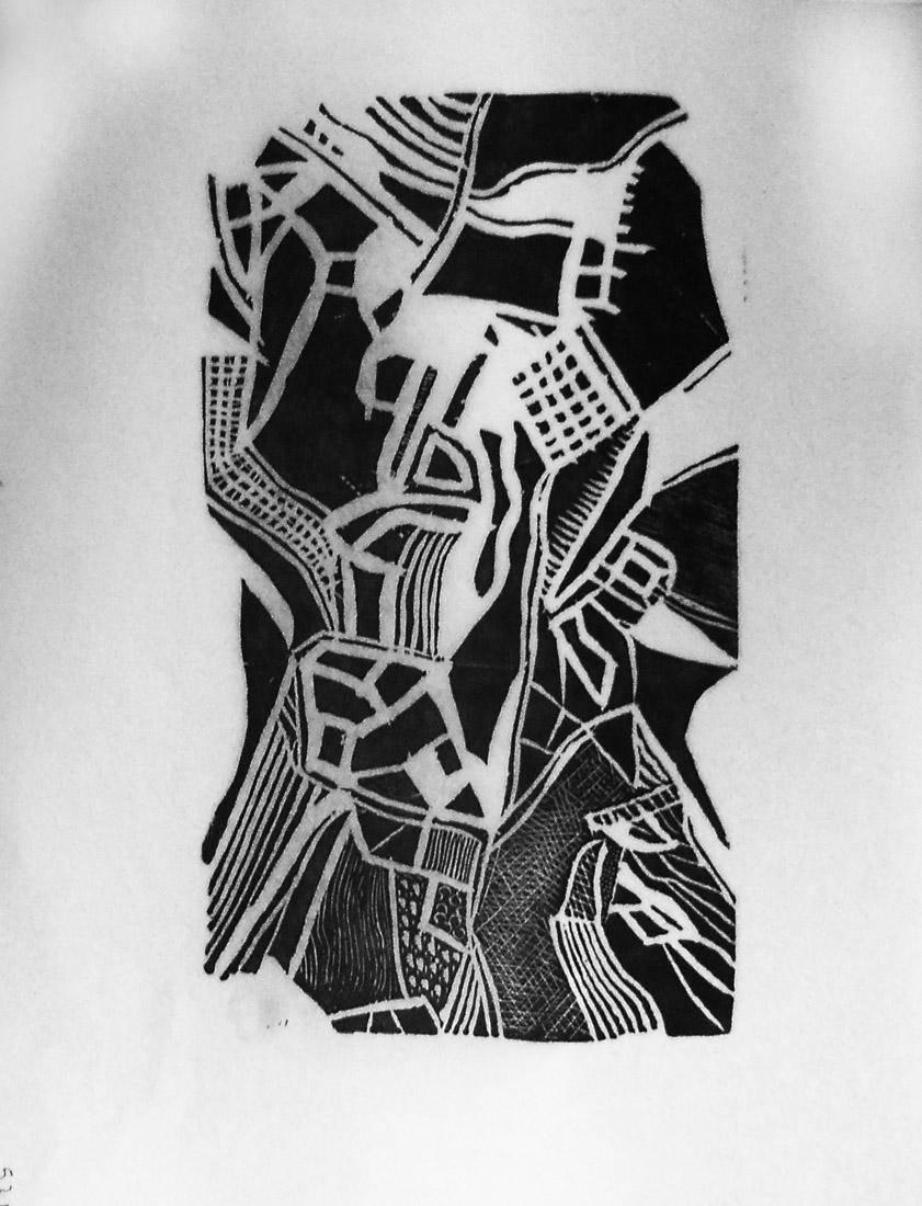 Obra ampliada: Sin Título (Motivo Linear)   - Arnaldo Pedroso D Horta