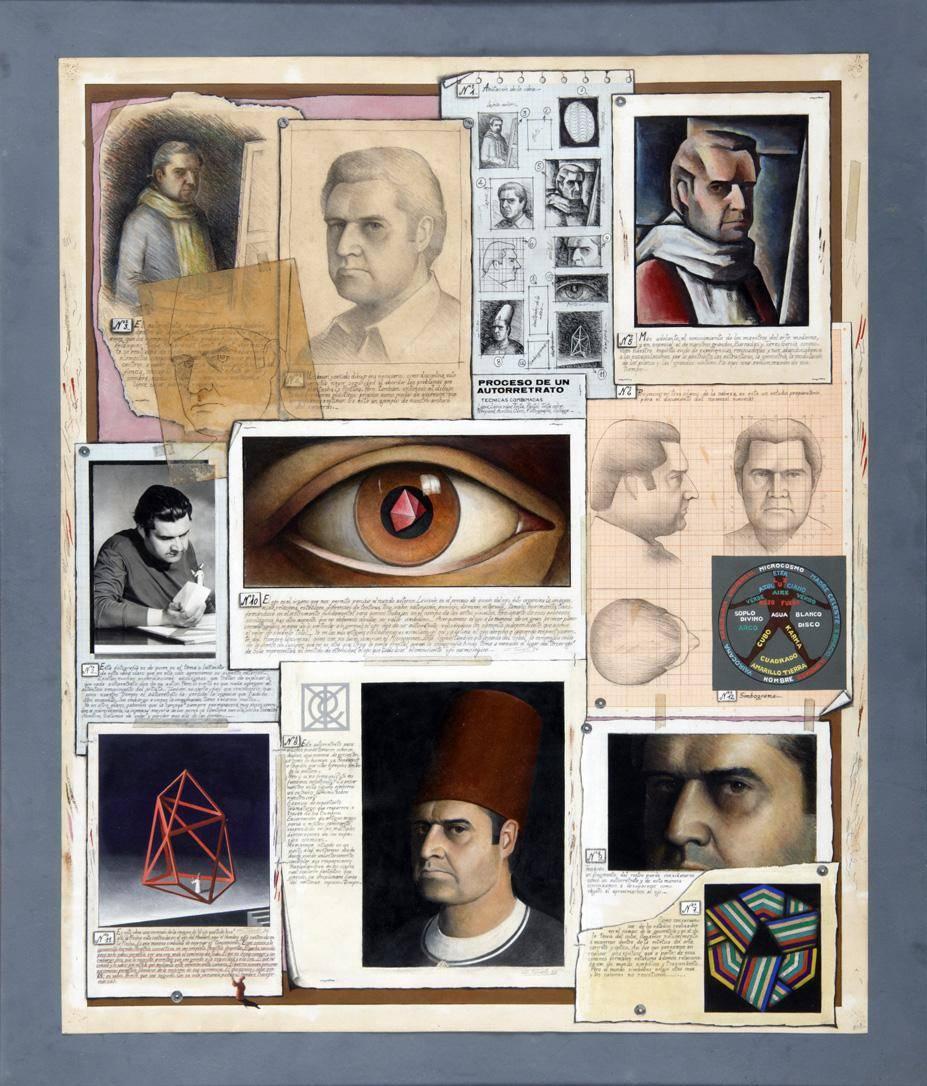 Obra ampliada: Proceso Autorretrato I - Carlos María Tonelli
