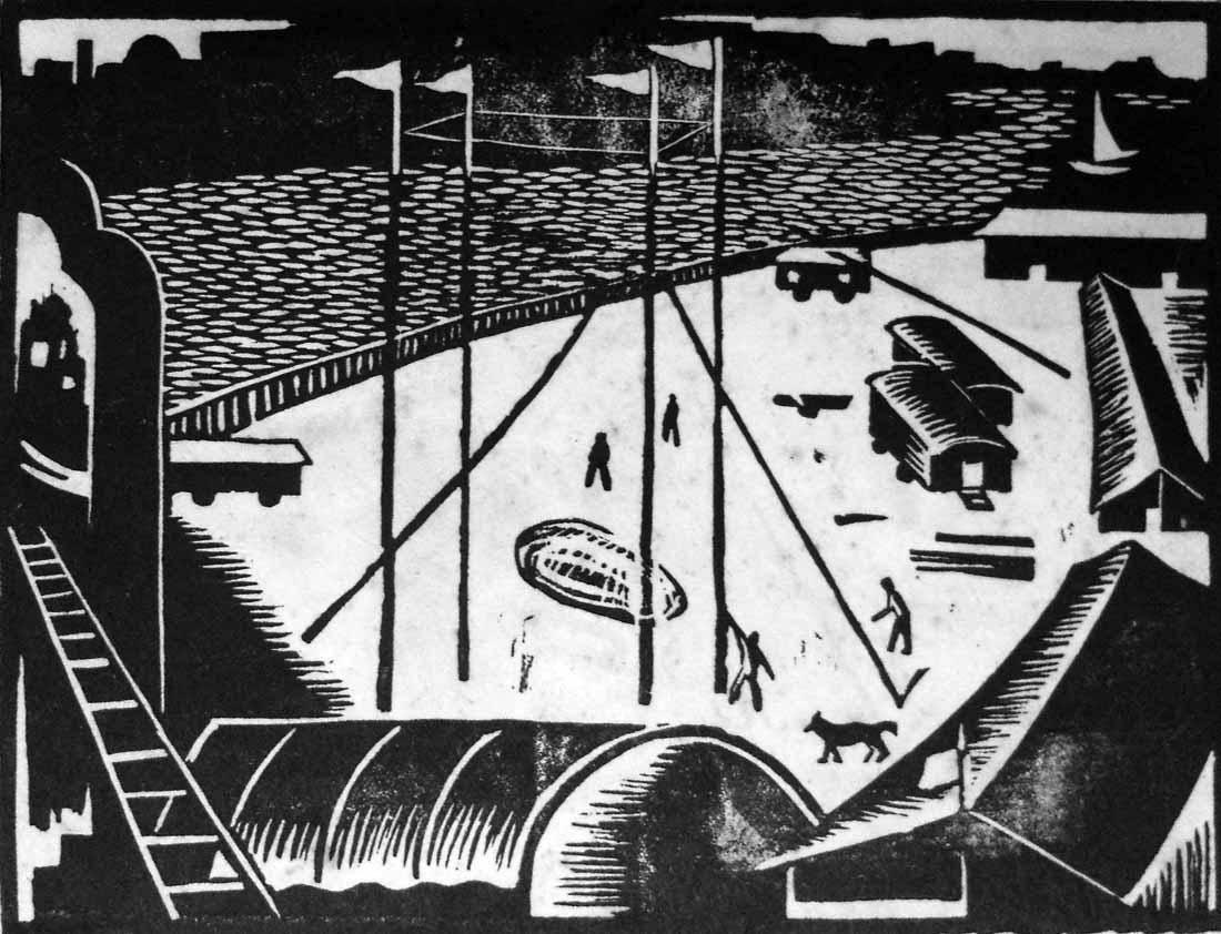 Obra ampliada: Sin Título (El Circo) - Carlos Prevosti