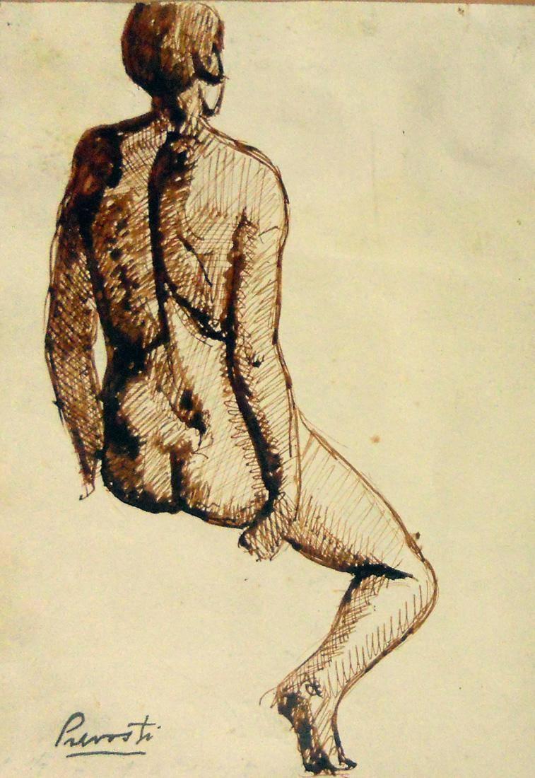 Obra ampliada: Desnudo - Carlos Prevosti