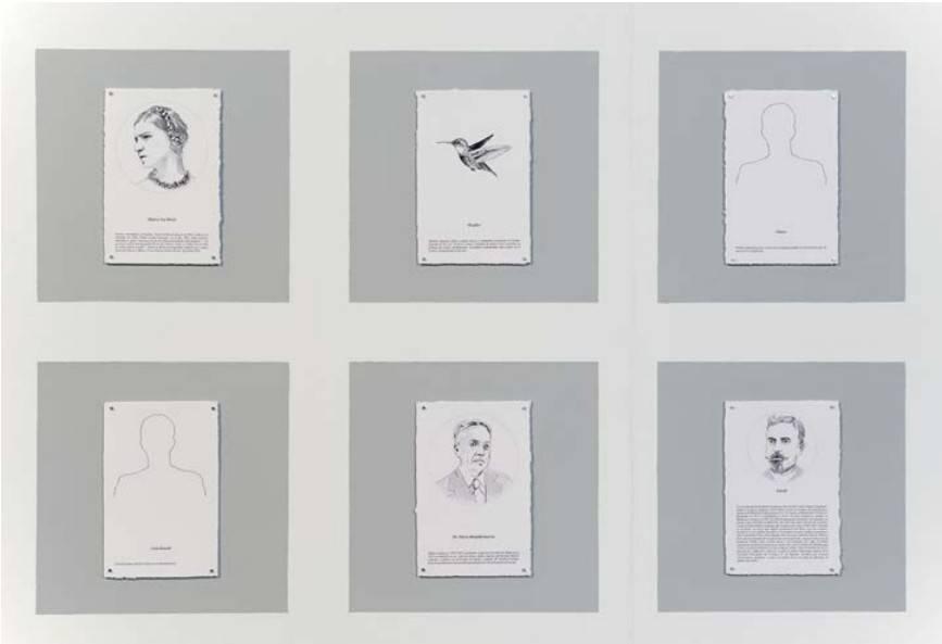 Obra ampliada: Todos los Nombres - De la Serie Breves Relatos y otros cuentos - (Políptico) - Paola Monzillo
