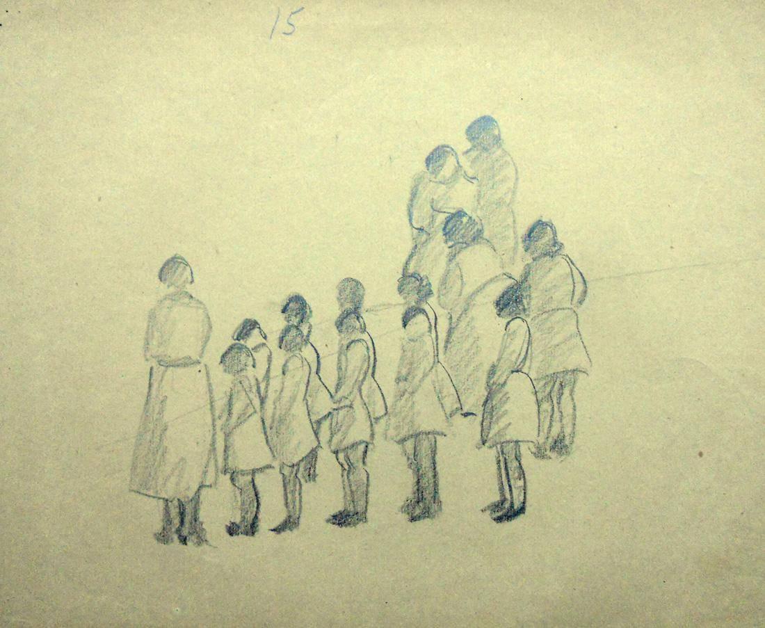 Obra ampliada: Sin tìtulo (Estudio) - Petrona Viera