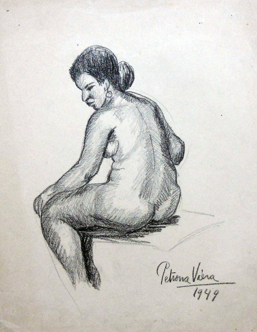 Obra ampliada: Sin tìtulo - Petrona Viera